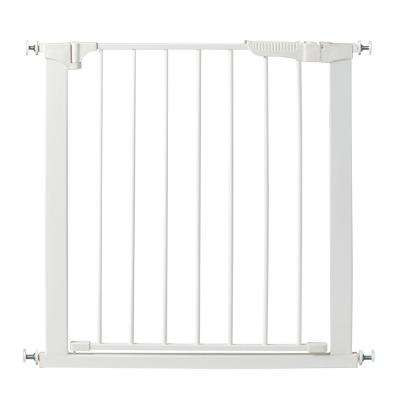 29.5 in. H Pressure Mount Gate Auto Close Gateway in White