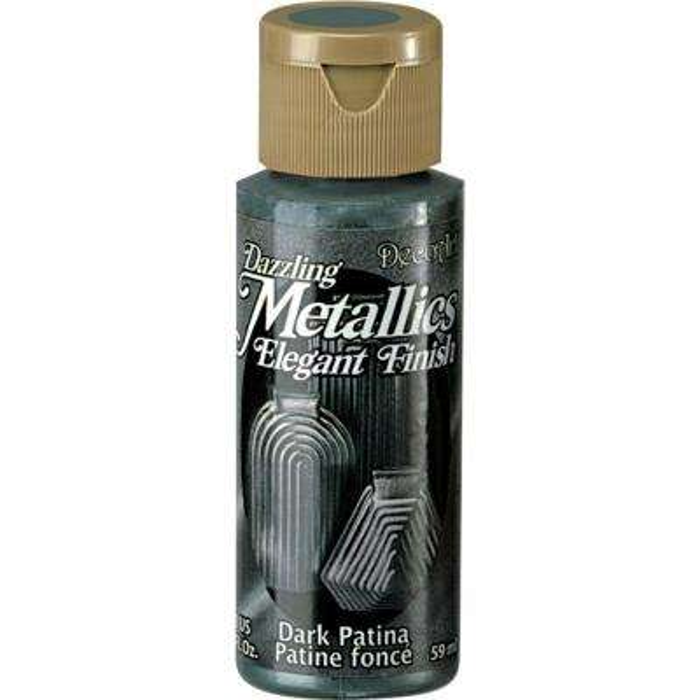 Dazzling Metallics 2 oz. Dark Patina Acrylic Paint