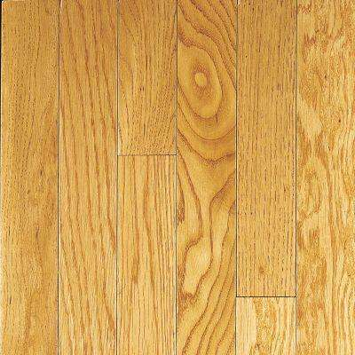 Oak Toffee Solid Hardwood Flooring - 5 in. x 7 in. Take Home Sample