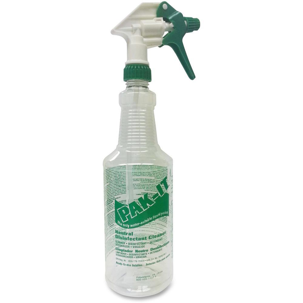 32 fl. oz. Wash-It Waterless Vehicle Wash Spray Bottle (12-Pack)