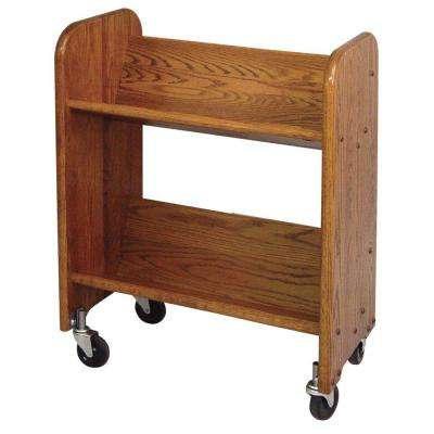 Bookmaster 2-Shelf Mobile Bookcase