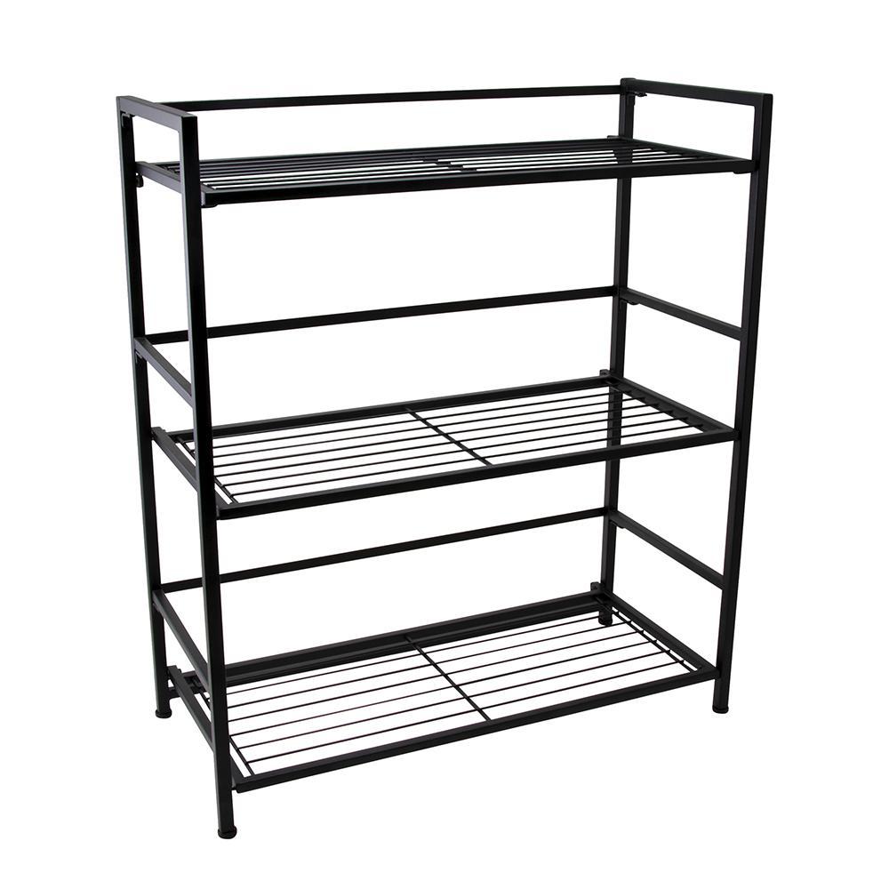 Advantus FlipShelf 3-Shelf Wide 26.5 in. W x 30.5 in. H x 12 in. D Steel Shelf