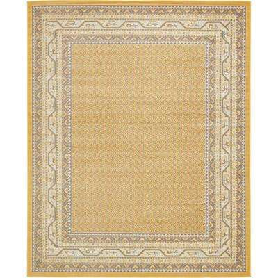 Williamsburg Allover Yellow 8' 0 x 10' 0 Area Rug