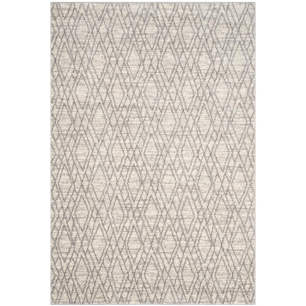 Safavieh Tunisia Ivory/Light Gray 5 ft. x 8 ft. Area Rug