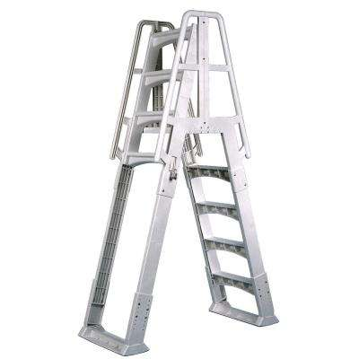 A-Frame Ladder with Barrier