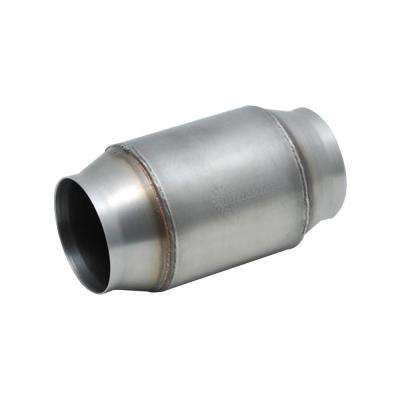 GESi High Output Univ OBD2 Catalytic Converters 4in OD x 4in body length 2.5in inlet/outlet