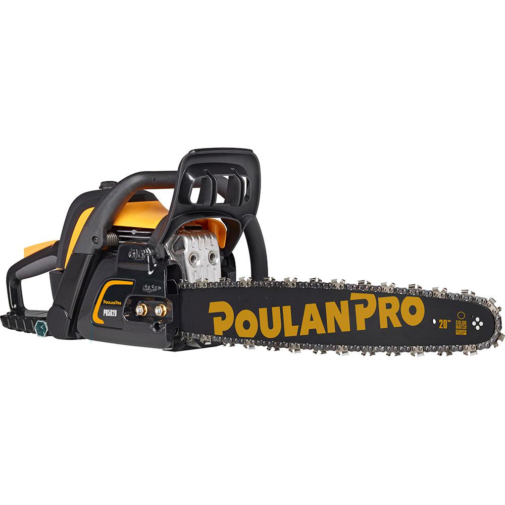 Poulan pro pr5020 20 in 50cc gas chainsaw 967061501 the home depot poulan pro pr5020 20 in 50cc gas chainsaw greentooth