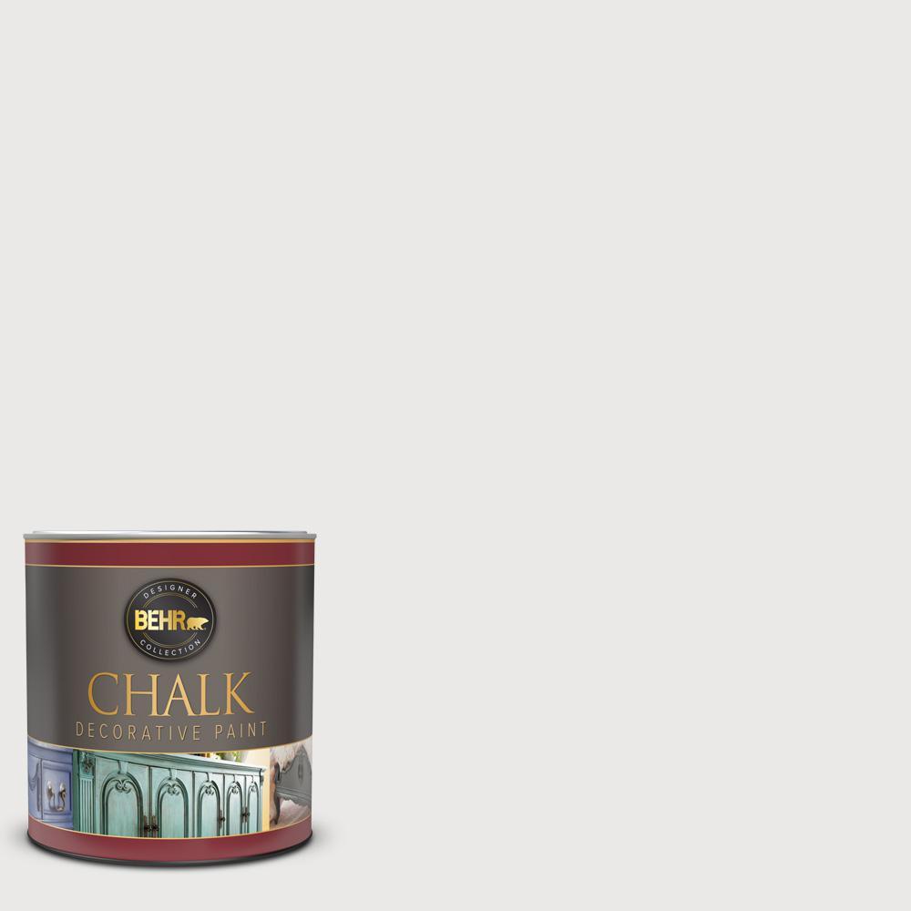 1 qt. #BCP08 Tin White Interior Chalk Decorative Paint