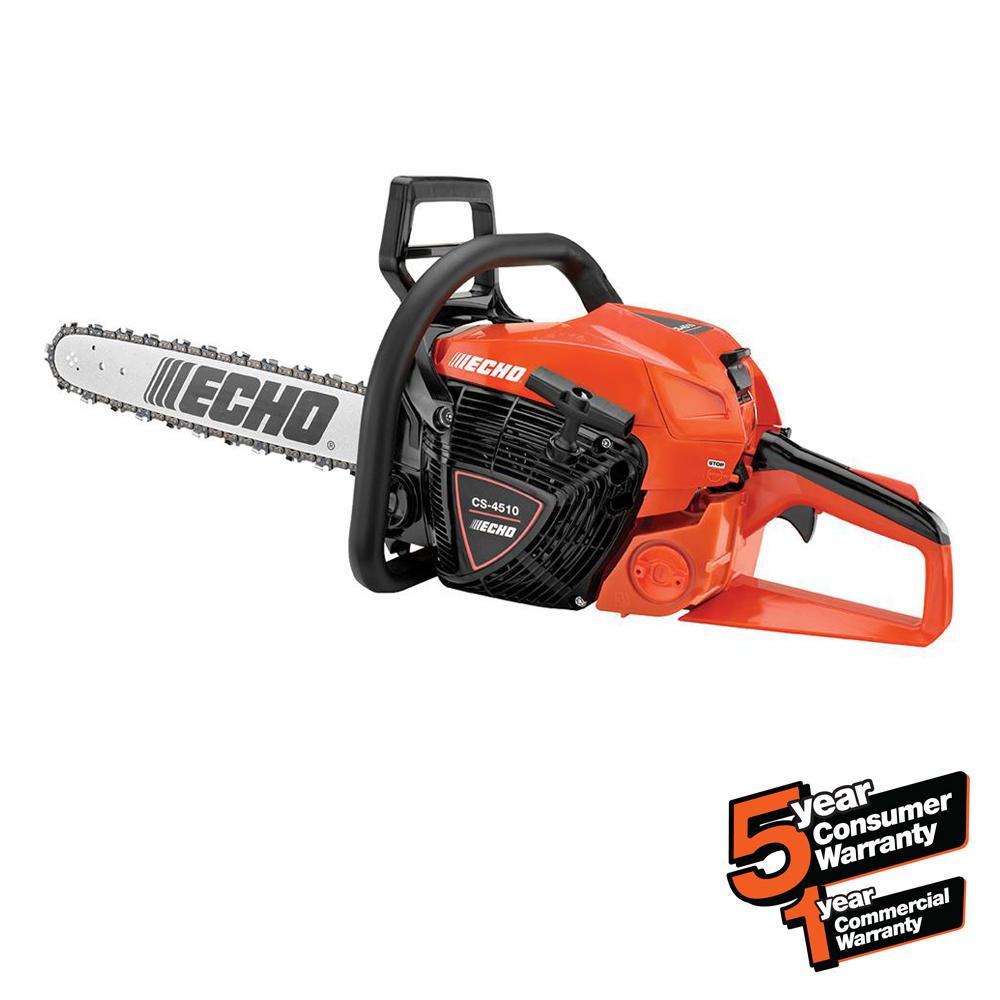 18 in. 45.0cc Gas 2-Stroke Cycle Chainsaw
