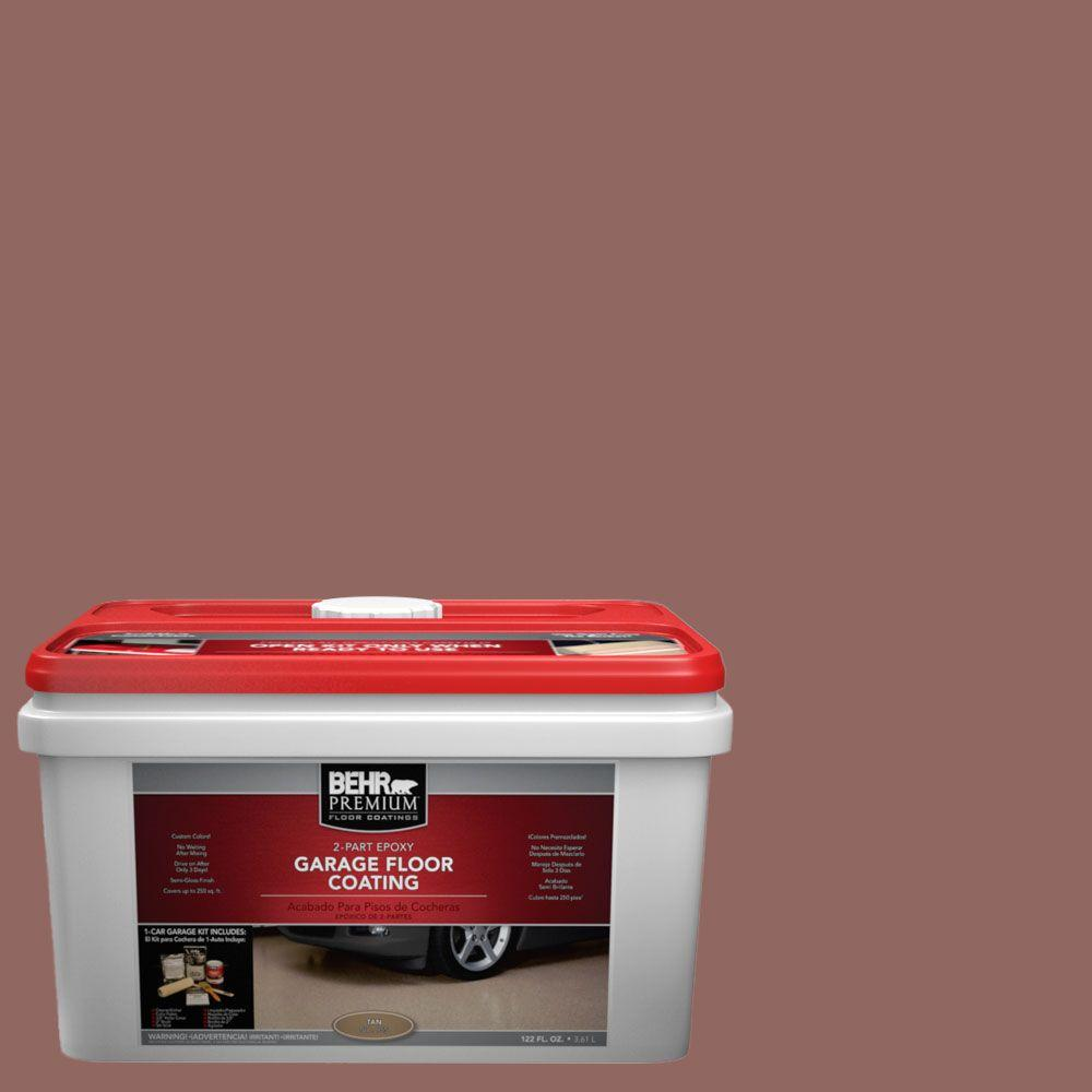 BEHR Premium 1-gal. #PFC-09 Giant Sequoia 2-Part Epoxy Garage Floor Coating Kit