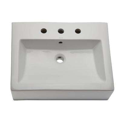 Vessel Sink in White