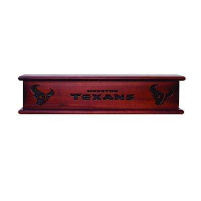Houston Texans 1.7 ft. Memorabilia Cap-Shelf Mantel