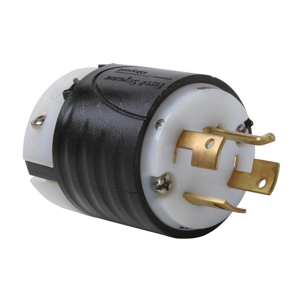 plug nema amp 120 208 phase vac volt wire non locking ss plugs electrical electric pole connectors depot
