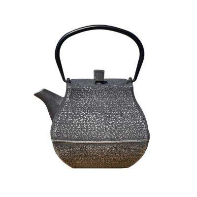 Meiyo 5.5-Cup Teapot in Silver and Black