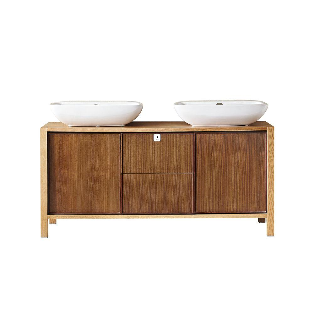 vanity cabinet and sink. D Vanity Cabinet in Elanti 17 5  with Porcelain Wall Mounted Corner