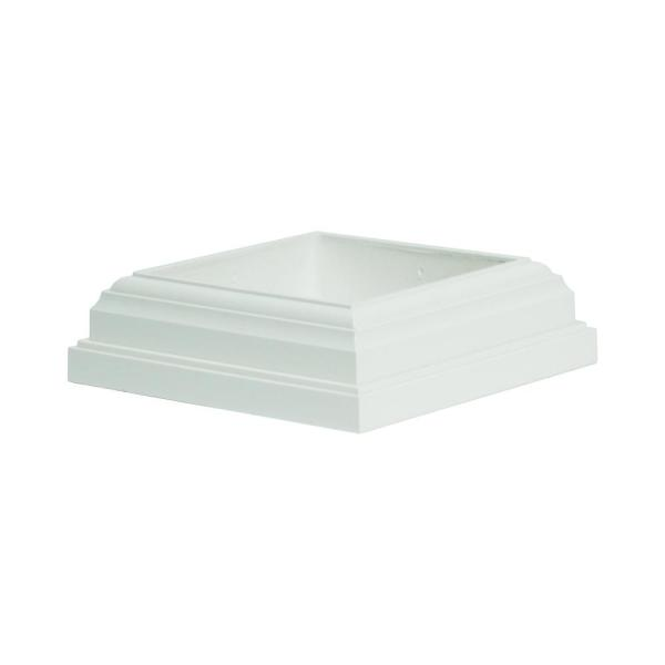 ArmorGuard 4 in. x 4 in. White Post Sleeve Base Moulding
