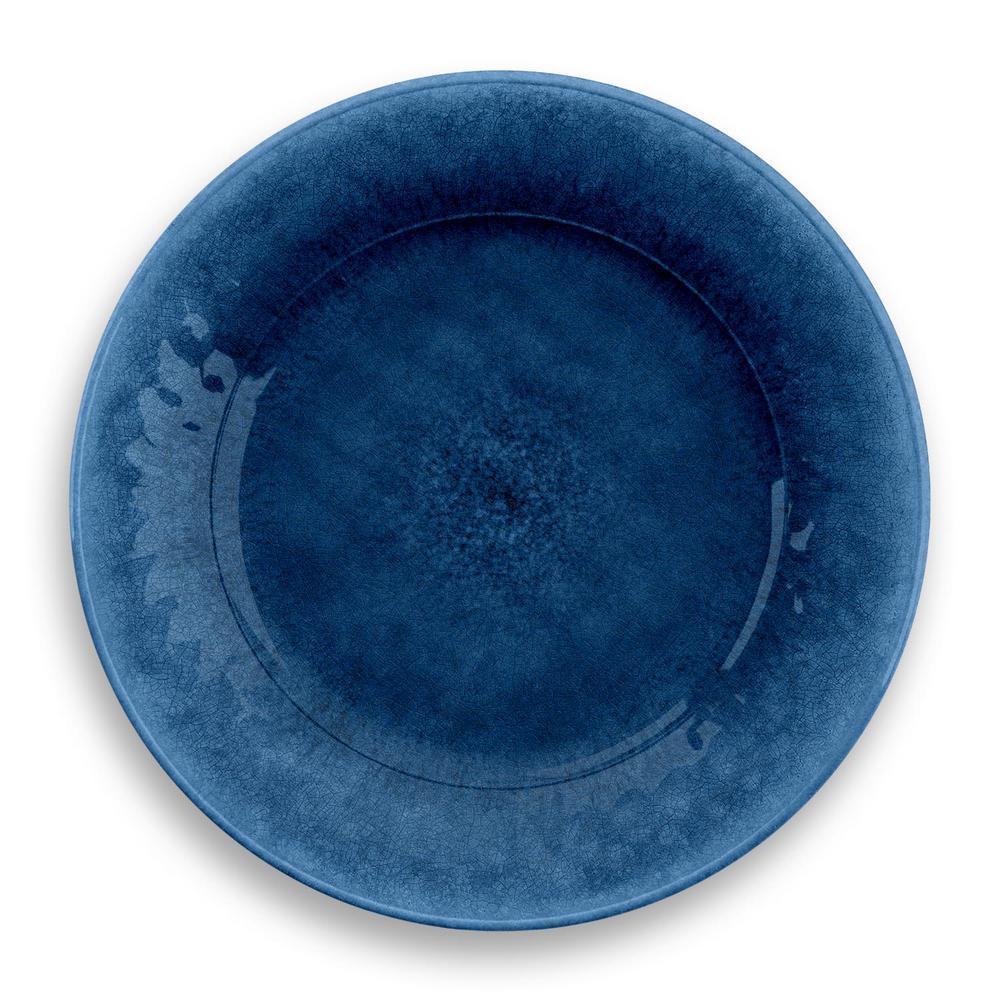 Potters Reactive Indigo Melamine Dinner Plate (Set of 6)