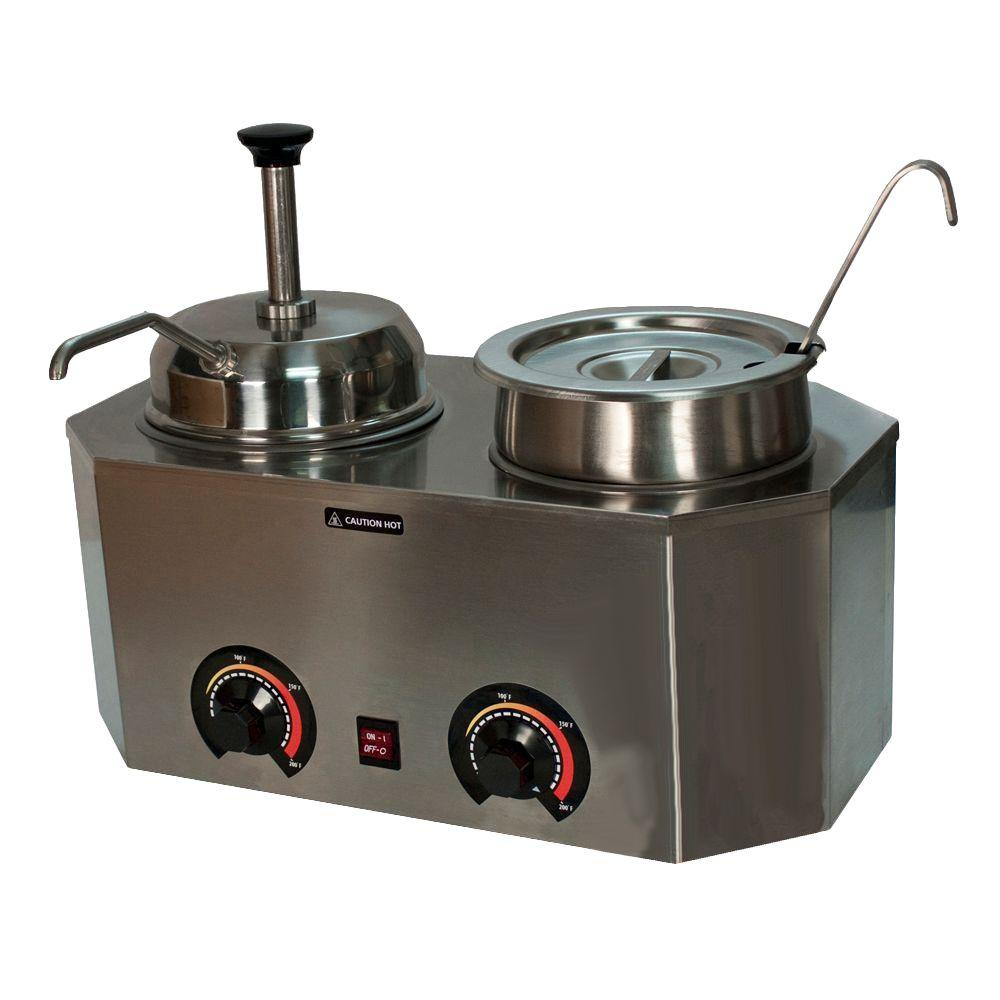 Paragon Pro-Style Ladle Pump Warmer, Stainless
