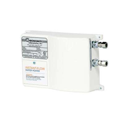 Instant-Flow Micro-Low Flow .50 GPM Point of Use Electric Tankless Flow Water Heater, 20 Amp, 208-Volt, 4160-Watt, 110°F