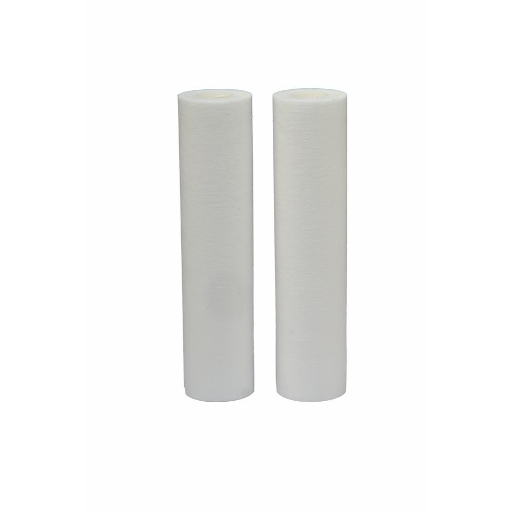 Universal Fit Melt Blown Whole House Water Filter (2-Pack) - Fits