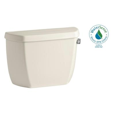 Wellworth Classic 1.0 GPF Single Flush Toilet Tank Only in Almond