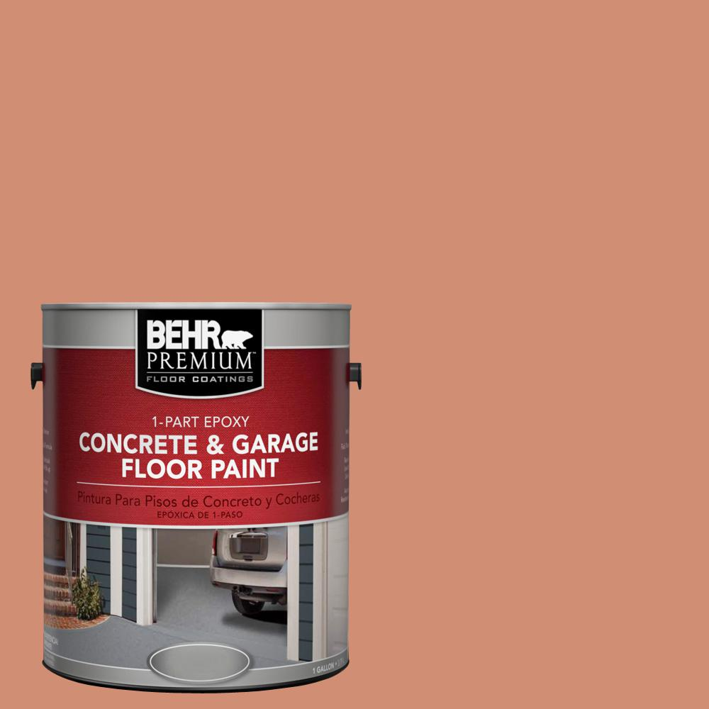 1 gal. #M200-5 Terra Cotta Clay 1-Part Epoxy Concrete and Garage