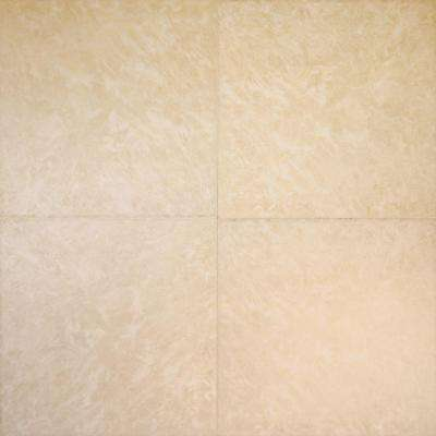 Isla Beige 16 in. x 16 in. Glazed Ceramic Floor and Wall Tile (16 sq. ft. / case)