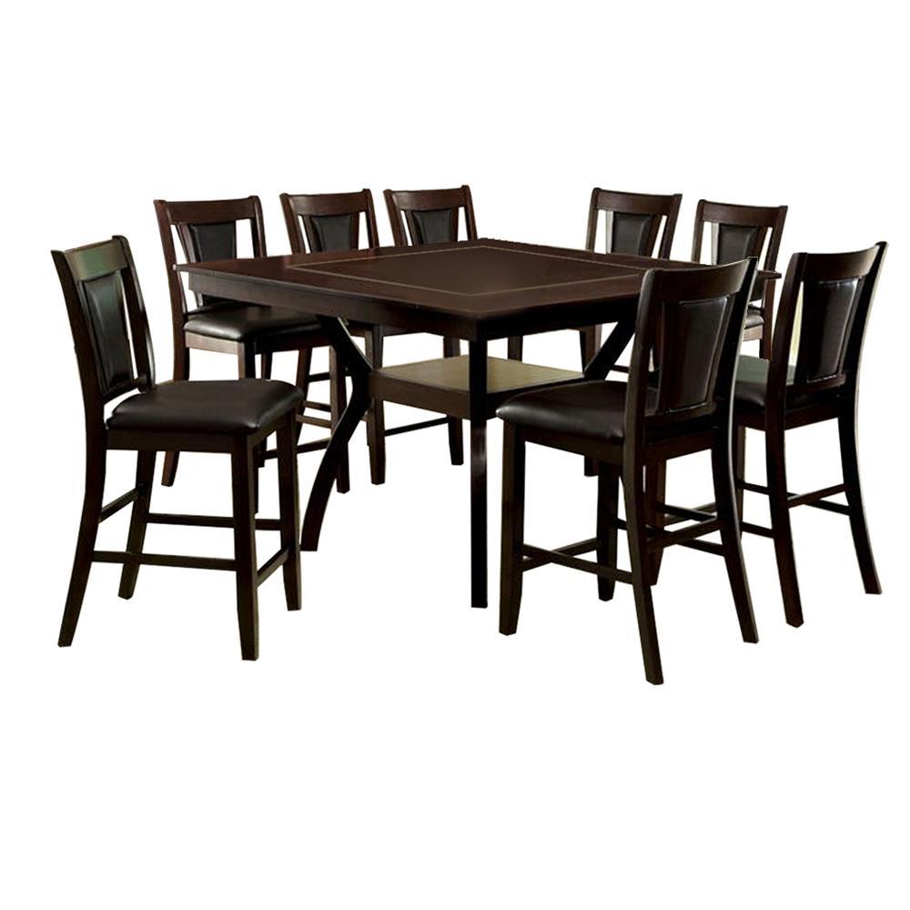 Williams Home Furnishing Brent Dark Cherry Table Set