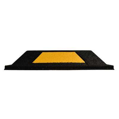 20 in. x 6.5 in. x 4 in. Secure Park Rubber Parking Curb (2- Pack)
