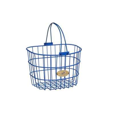 Surfside Adult Wire D-Shape Basket in Royal Blue