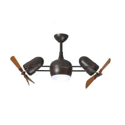 Westergate 38 in. 6-Blade Textured Bronze Ceiling Fan
