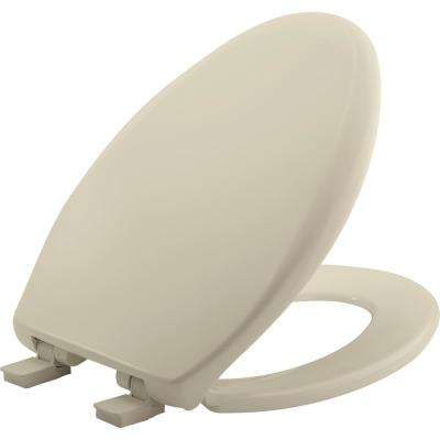 Affinity Elongated Closed Front Toilet Seat in Bone