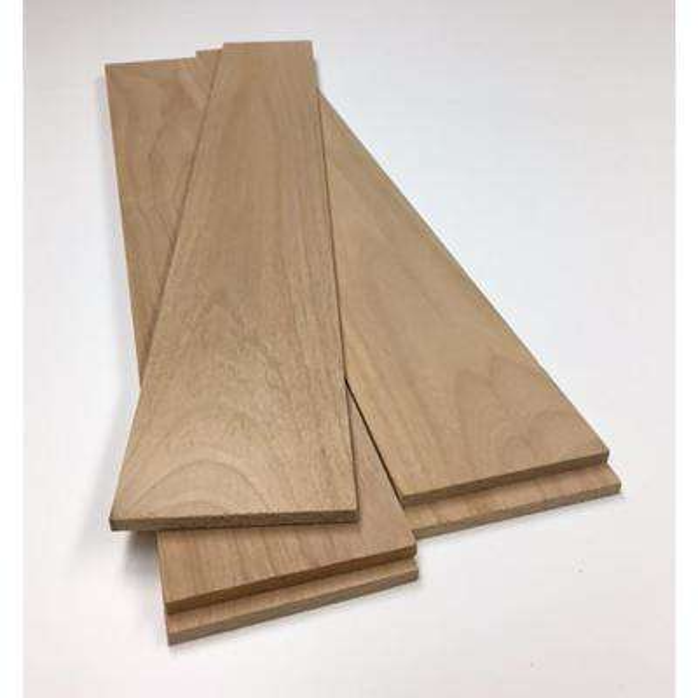 0.25 in. x 3.5 in. x 4 ft. Alder Hobby Board (5 pack)