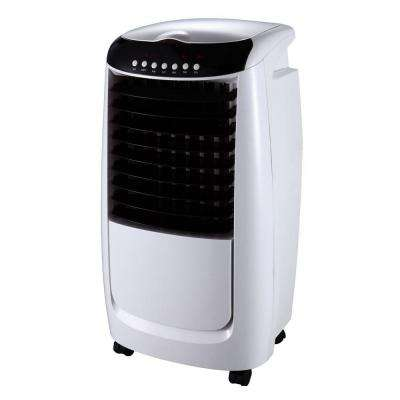 335 CFM 3-Speed Portable Evaporative Air Cooler with 3D Cooling Pad for 250 sq. ft.