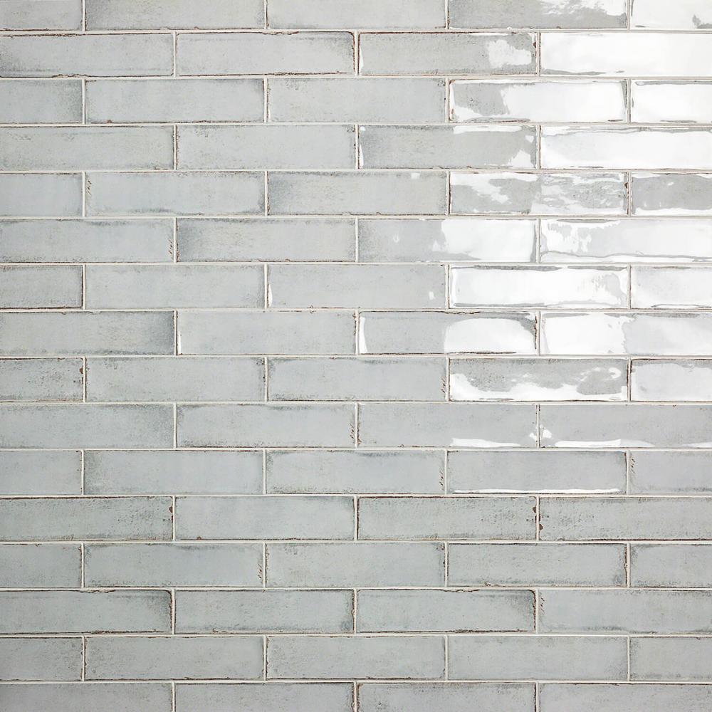 Ivy Hill Tile Moze Gray 3 In X 12 In 9 Mm Ceramic Wall