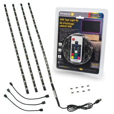 RibbonFlex Home 6.5 ft. USB LED Tape Light Kit