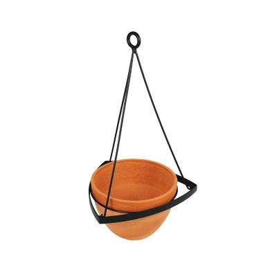 Achla Designs 28 25 In Tall Terra Cotta Stone Lina Ii Modern Hanging Planter Bh 02 S The Home Depot
