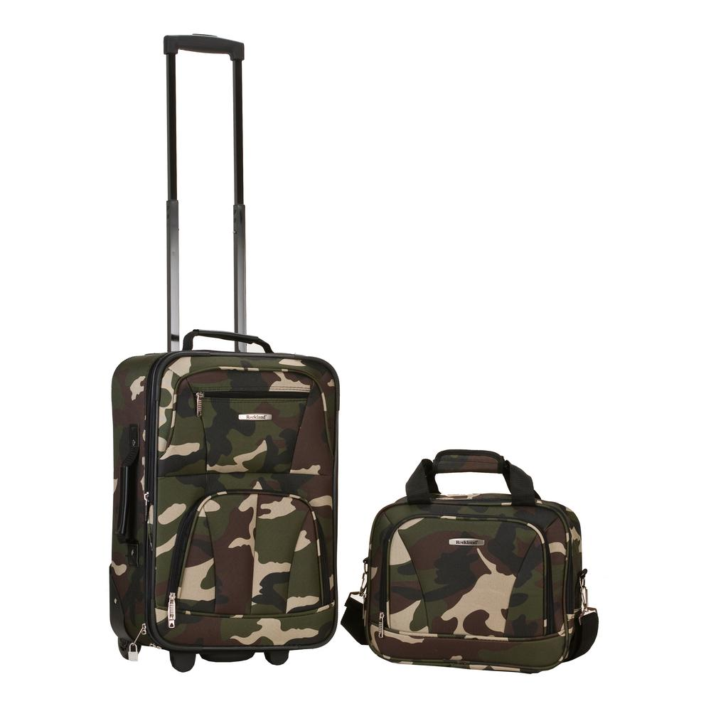 Rockland Rockland Rio Expandable 2-Piece Carry On Softside Luggage ... feaeb8bf7d4d