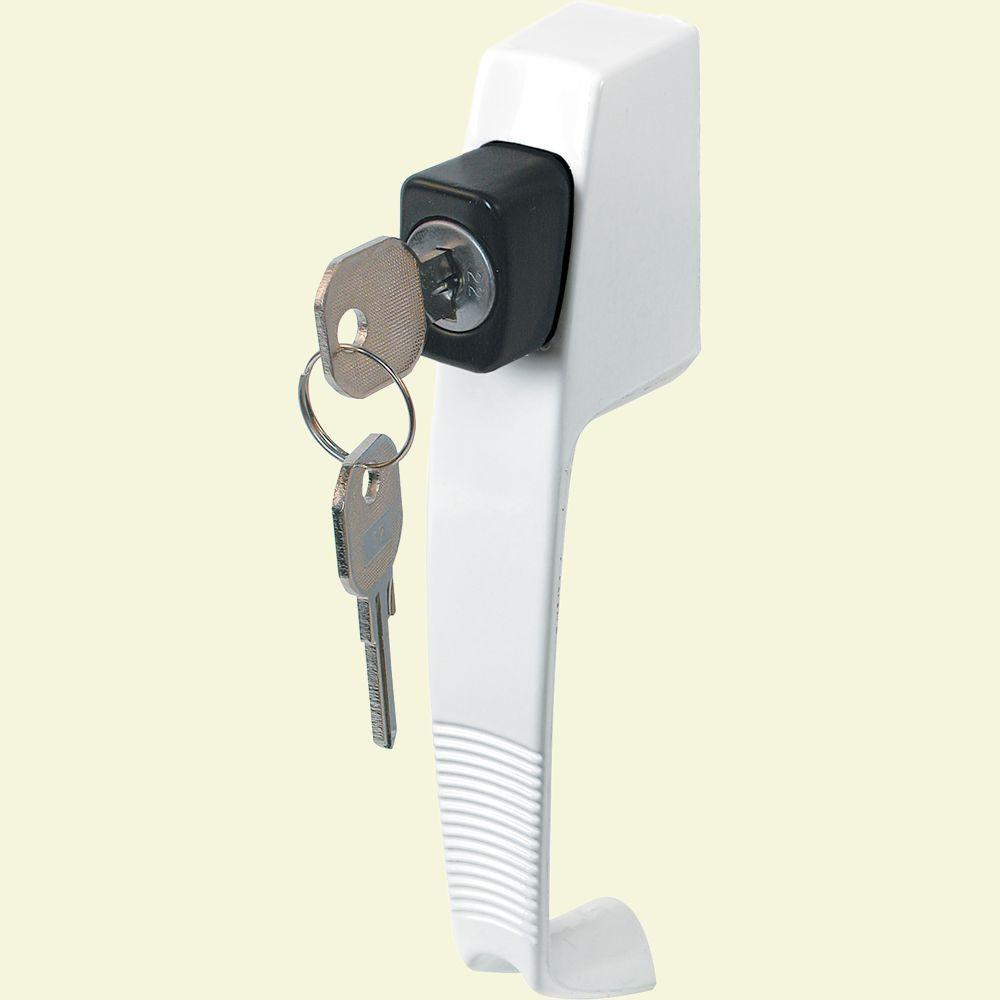 Prime-Line Keyed Locking Unit Push Button Latch
