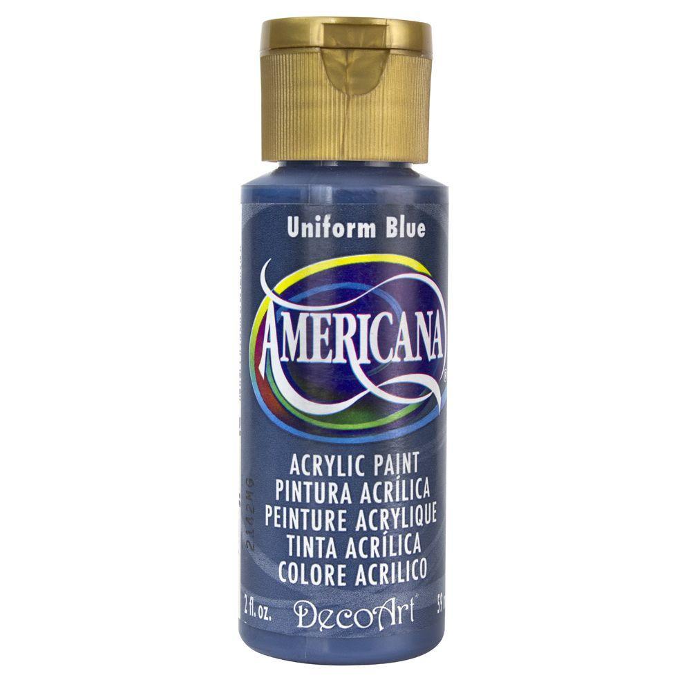 Americana 2 oz. Uniform Blue Acrylic Paint