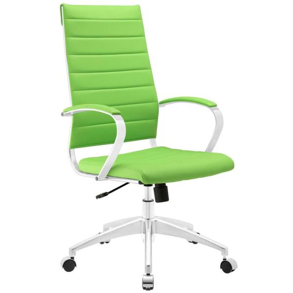 MODWAY Jive Highback Office Chair in Bright Green