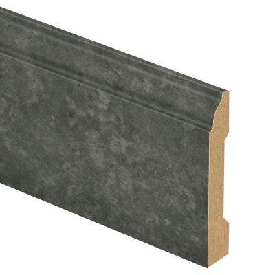 Slate Shadow/Monson Slate 9/16 in. Thick x 3-1/4 in. Wide x 94 in. Length Laminate Wall Base Molding