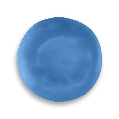 Navy Sea Glass Polypropyene Salad Plate (Set of 6)