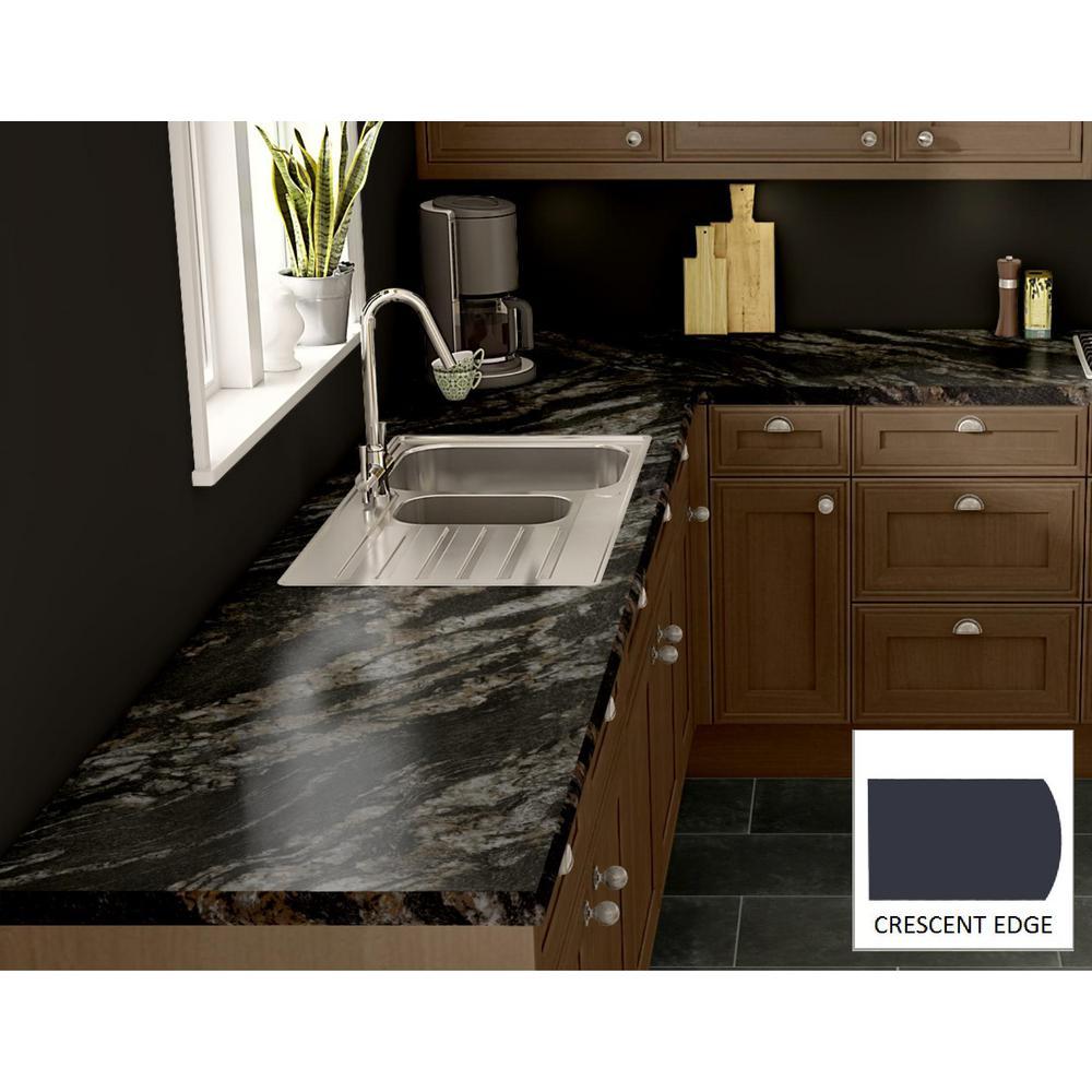 Wilsonart Cipollino Bianco Laminate Custom Crescent Edge C F C144188135 The Home Depot