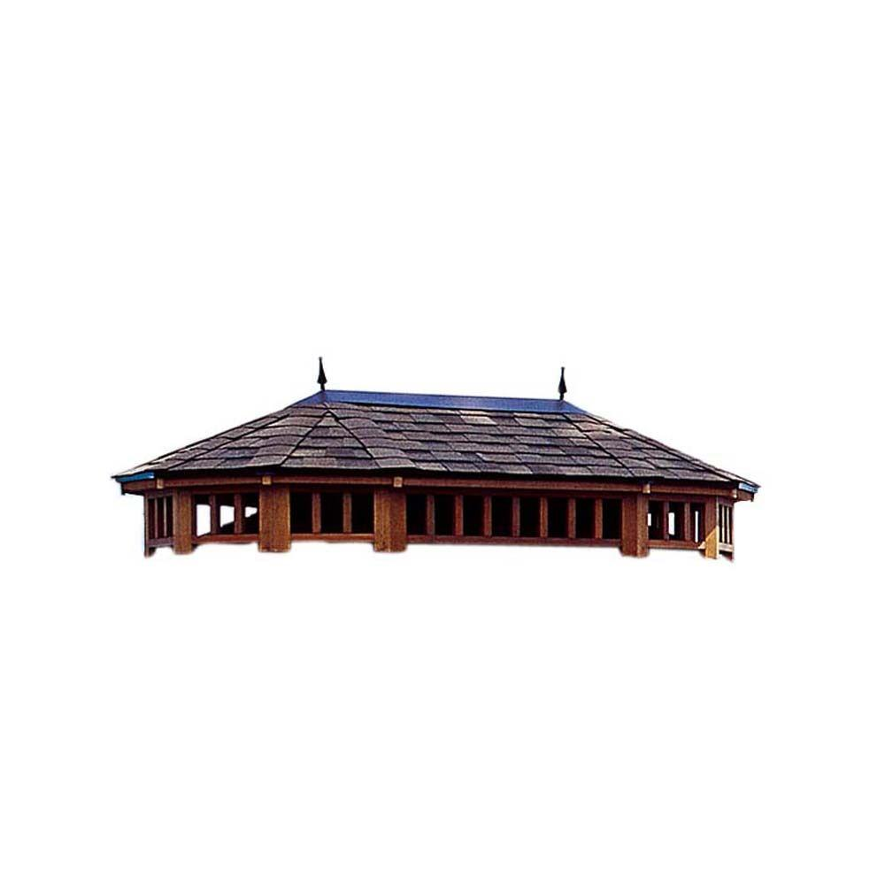 Handy Home Products Monterey 12 ft. x 16 ft. 2-Tier Gazebo Roof