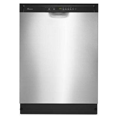 24 in. Front Control Built-in Tall Tub Dishwasher in Stainless Steel with Stainless Steel Tub