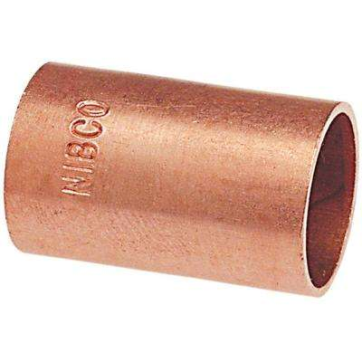 MCP601 3/4 in. Copper Pressure C x C Coupling without Stop (50-Pack)