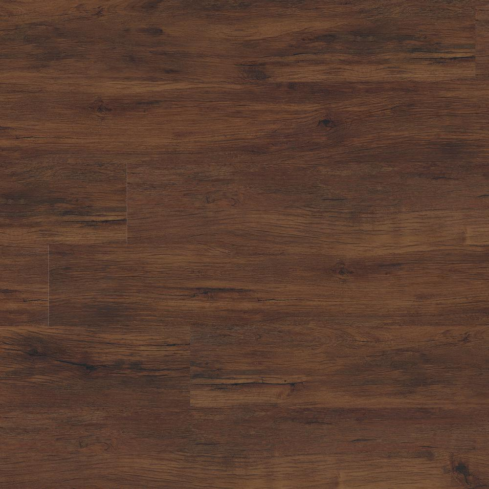 MSI Heritage Antique Mahogany 7 in. x 48 in. Rigid Core Luxury Vinyl Plank Flooring (19.04 sq. ft. / case)