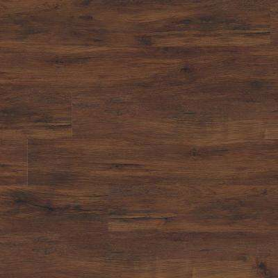 Heritage Antique Mahogany 7 in. x 48 in. Rigid Core Luxury Vinyl Plank Flooring (19.04 sq. ft. / case)