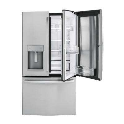 27.8 cu. ft. French Door Refrigerator with Door In Door in Stainless Steel